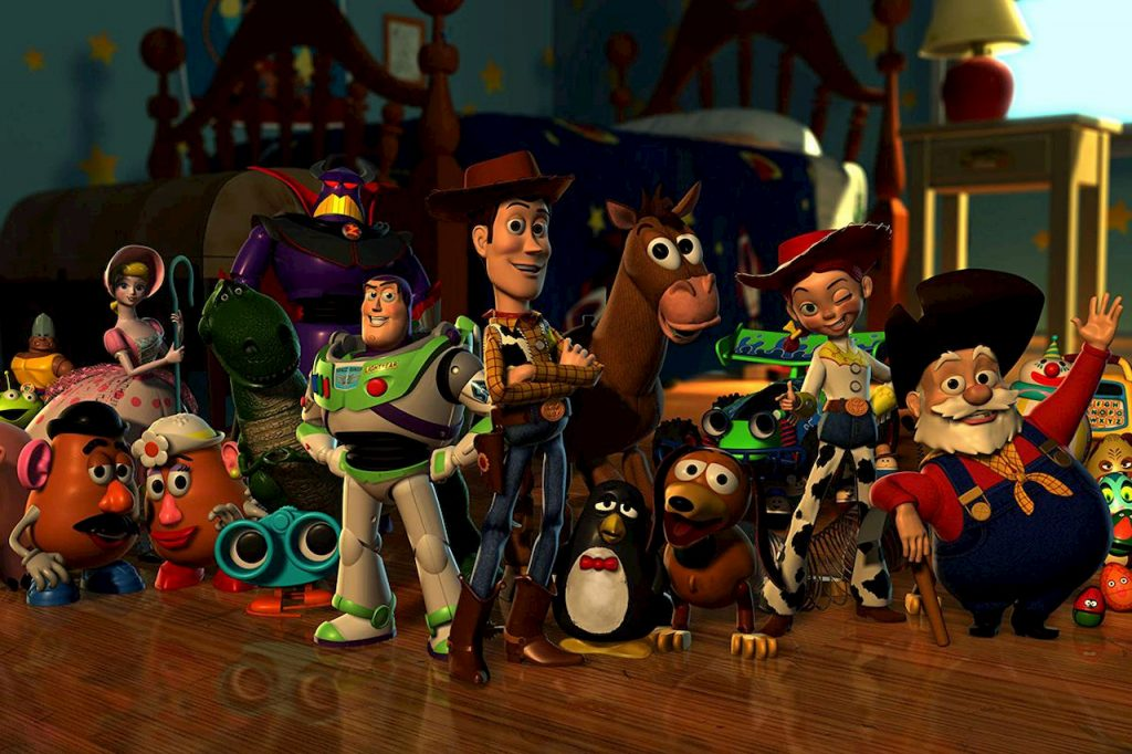 Filmes educativos: toy story